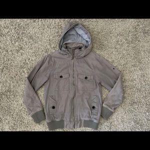 Nixon, Mens Zipper Jacket with Detachable Hood